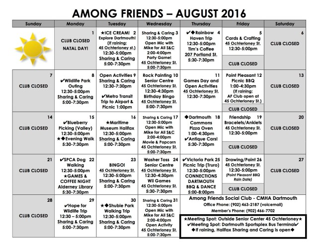 Among Friends August 16 revised