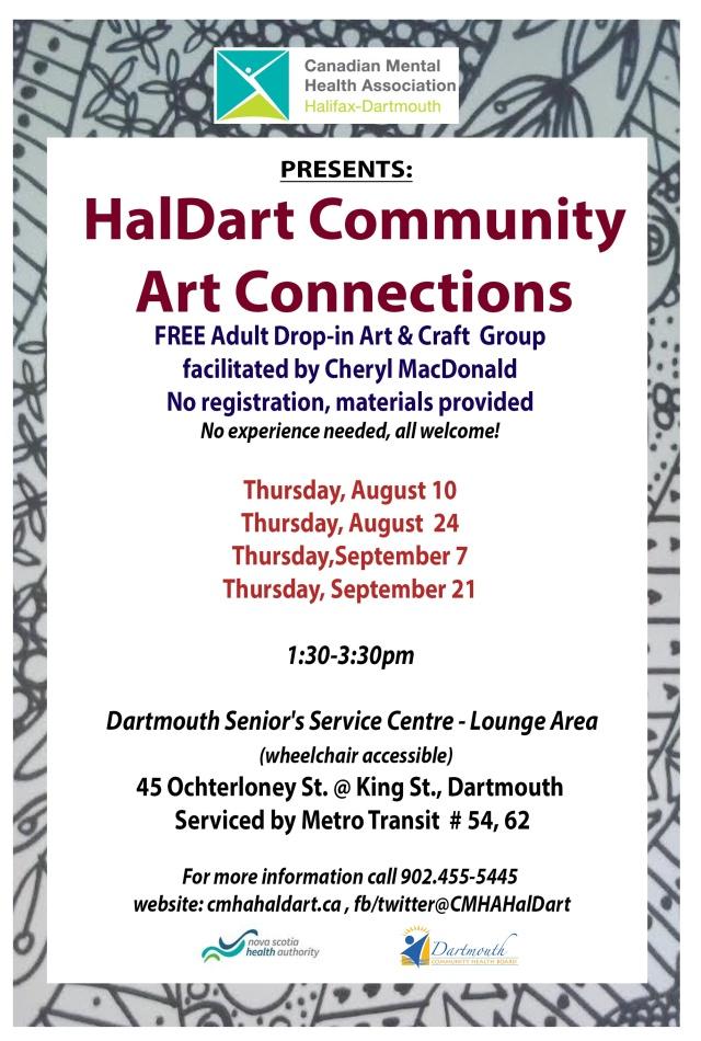 august flyer dartmouth (002) HalDart Art Connections