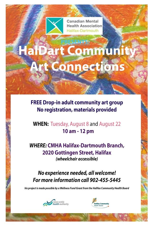 Halifax-HalDart Art Connections August 2017