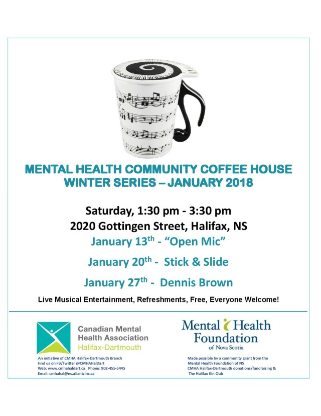 MENTAL HEALTH COMMUNITY COFFEE HOUSE flyer January 2018-page-001
