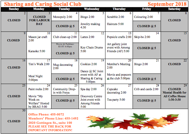 Sharing and Caring September Schedule 2018 JPEG (002)