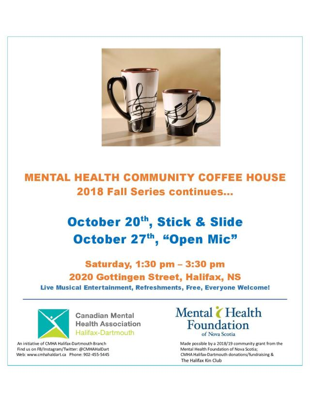 Coffee House October 2018
