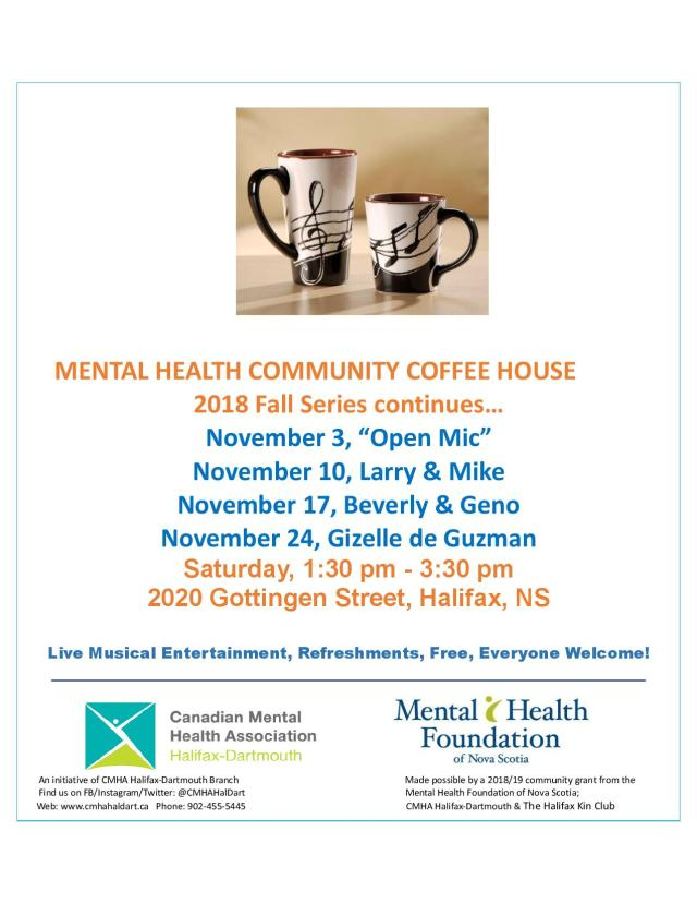 Coffee House November 2018