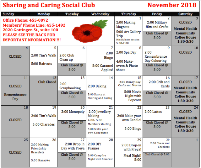 Sharing and Caring November Schedule (002)