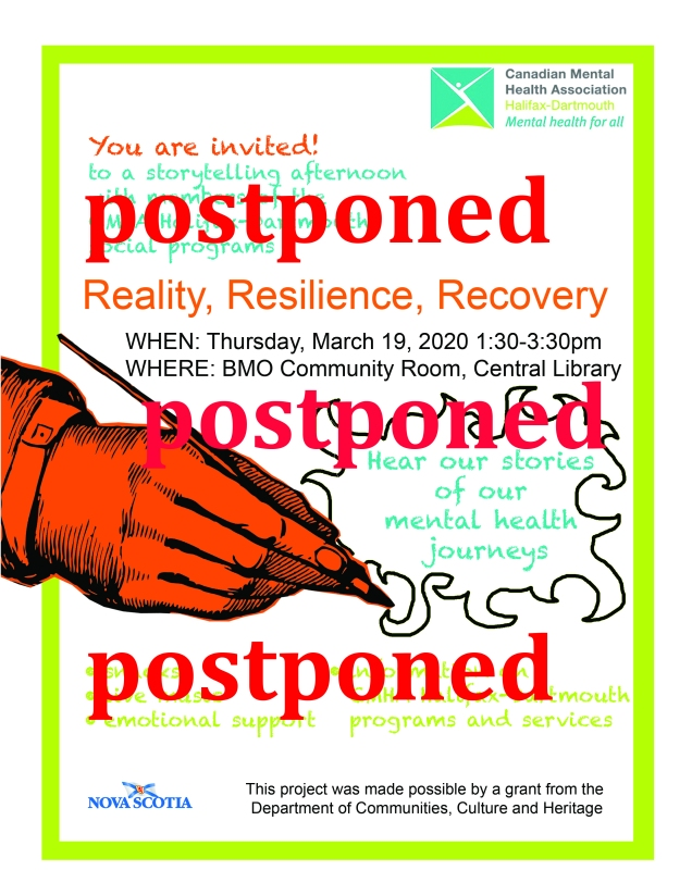 In light of the concerns around COVID-19, and the fact that the Halifax Public Libraries have cancelled their public programming, we have decided to postpone this event until a later date. Please stay tuned and come out to support our storytellers in the spring🌷